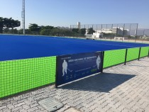 01/08/2016 - Drainage system for artificial turf in the Olympic Hockey Stadium in Rio de Janeiro, Brazil.