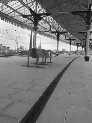 Railway station, York, UK, 2007